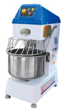 The automatical double speed double motor SS dough mixer
