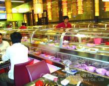 Rotary   sushi  conveyor belt