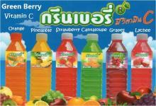 Fruit juice 25% in PET bottle, Thai product