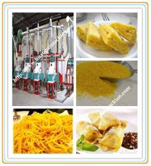 maize flour milling process