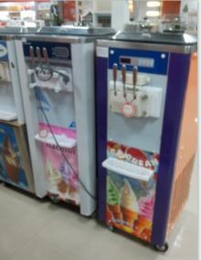 Soft serve desktop ice cream making or maker machine