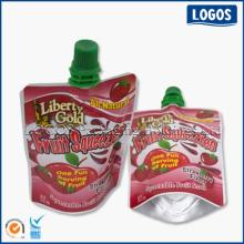 Beverage Packaging Stand Up Spout Pouch