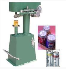 Aluminum foil wine juice bear can sealing machine