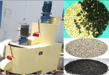 Automatic sesame washing and peeler hulling processing machine