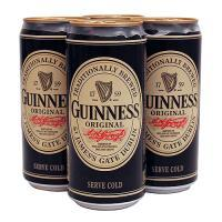 Beer black Guinness 330ml With English Text