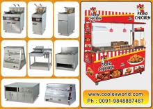 Fried  chicken   Burger  tables machines suppliers in hyberabad