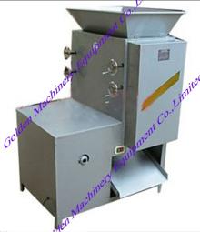 Garlic press stripper splitter separator machine