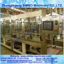 juice processing plant in filing machine