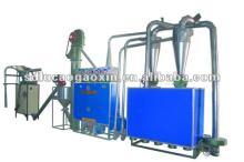 6FW-D4 corn grit milling plant