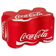 Coca Cola Soft Drink 330ml Can