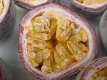 Frozen IQF passionfruit cut