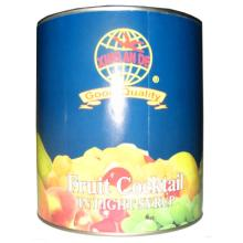 canned fruit cocktail in syrup