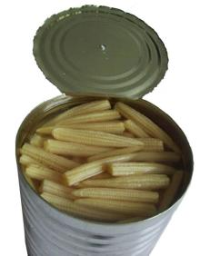 canned young baby corn