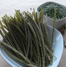 Organic GMO Free Green bean Noodle(Fettuccine)