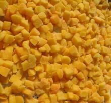dried peach dice