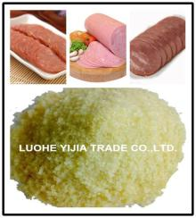 edible   gelatin  used for sausage