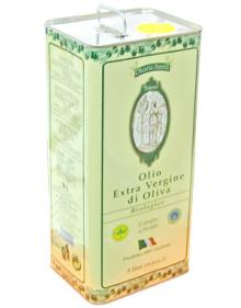 Extra virgin olive oil from Calabria Italy in tin