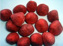 New Freezed dried whole strawberry