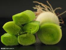 frozen spring onion cut