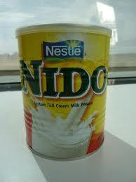Nestle baby nido milk powder