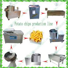 Frozen french fries machine/French fries production line/Potato chips machine