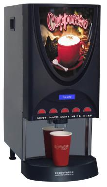 Golden Monaco Instant Coffee Machine for Food Service Locations