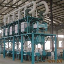 100TPD 200TPD complete maize milling plant