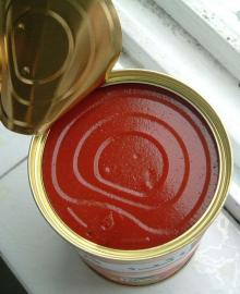 Canned Tomato Paste (28-30 & 22-24 brix)