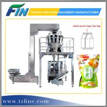 Automatic Pouch Weighing and Packing Machine