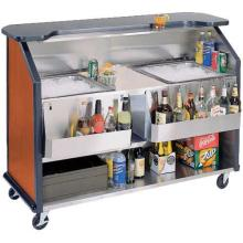 "Lakeside (886) - 63"" Portable Bottle-Mix Beverage Bar"