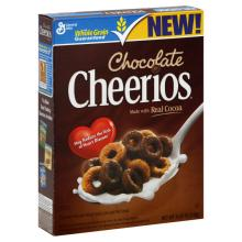 GM CHEERIOS CHOCOLATE CEREAL