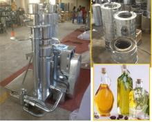 Hydraulic vegetable seed olive oil press expeller machine