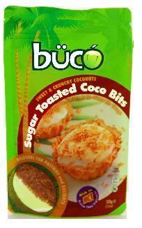 Buco Sugar Toasted Coco Bits 200grams - Sweet and Crunchy Coconut