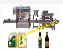 liquid olive oil filling machine capping machine