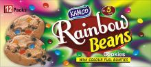 rainbow beans cookies