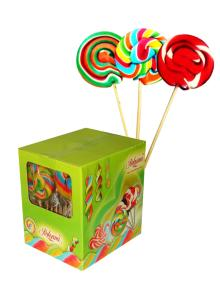 Twist   Hard   Candy  Lollipop 60g