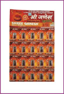 shree ganesh saffron single user pack