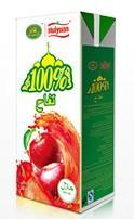 100% Halal Apple Juice