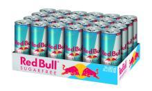 Red Bull Energy Drink, Sugar Free - 24 - 8.3 fl oz (250 ml) cans