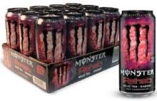 Monster Rehab Energy Supplement, Tea + Lemonade + Energy - 15.5 fl oz (458 ml)