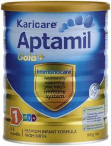Karicare Aptamil Gold + 1,2,3,4 milk powder 900 g