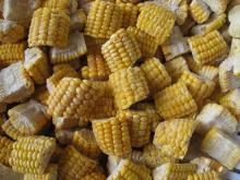 IQF сладкая кукуруза 1/2 среза
