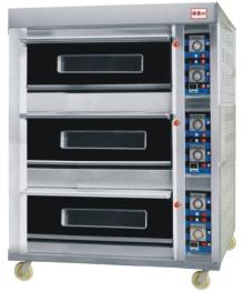 gas food oven(3 deck 6trays)