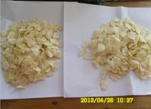 NO SULFUR DRIED WHITE COLOR GARLIC FLAKES