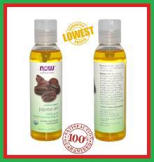 NOW 100% Jojoba Oil Pure Genuine 4oz