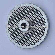 meat grinder plate with hub stainless steel material