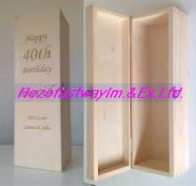 wood wine box for sale