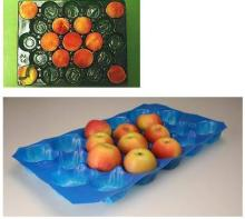 China Made Stone Fruit Plastic Tray Fruit Liners