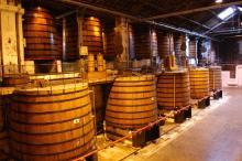 Brandy, cognac alcohol