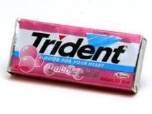 Trident Gum, Chewing Gum